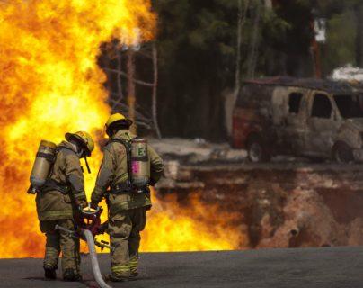El robo de gas pone en riesgo a las poblaciones cercanas a los ductos.