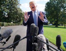 Los demócratas sostienen que Trump abusó de su poder como presidente para presionar a Ucrania, con el fin de obtener información incriminatoria contra Joe Biden, su principal rival en las elecciones de 2020. GETTY IMAGES