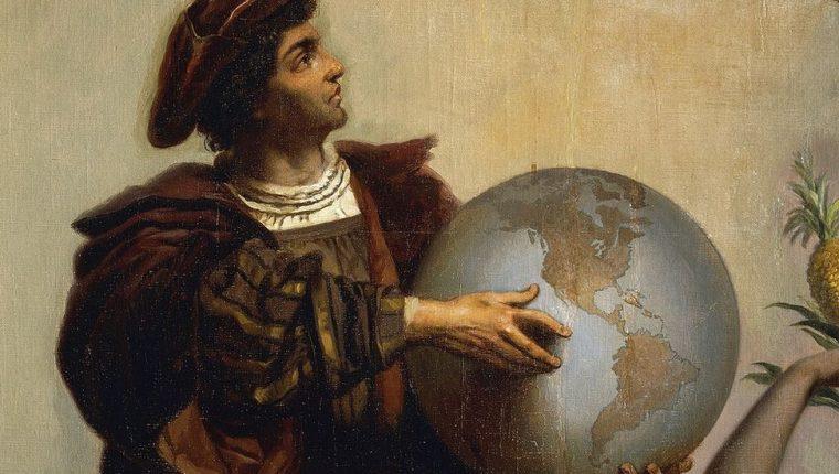 Cristóbal Colón dio nombre a muchos territorios, ríos, penínsulas, etc. en el html5-dom-document-internal-entity1-quot-endNuevo Mundohtml5-dom-document-internal-entity1-quot-end.