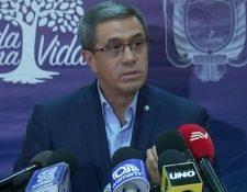 El secretario general de la presidencia, José Augusto Briones, presentó una serie de propuestas para volver a la paz en el país.