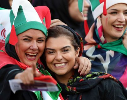 Desde 1979, las mujeres iraníes no tenían permitido asistir a partidos donde jugaran hombres.