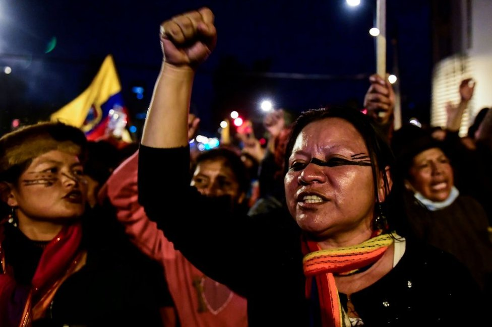 Crisis en Ecuador: las protestas dejan al menos 5 muertos y cientos de heridos