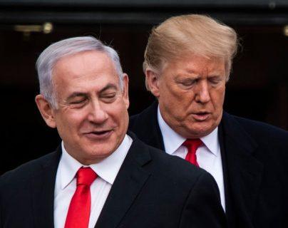 Netanyahu hizo de su relación con Trump una parte clave de su campaña presidencial.