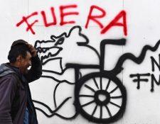 El rechazo al FMI fue un factor crucial en las protestas en Ecuador. AFP