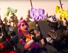 Pescando en un río, así encuentran los nuevos personajes de Fortnite sus armas. EPIC GAMES