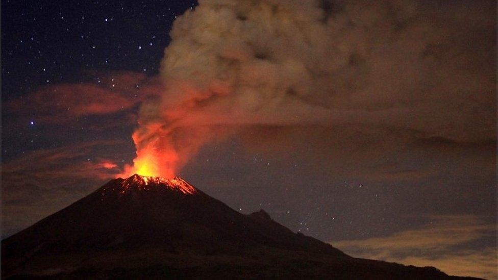 Qué es la Faja Volcánica Transmexicana que cruza la región más poblada de México (y por qué representa un mayor peligro de lo que se pensaba)
