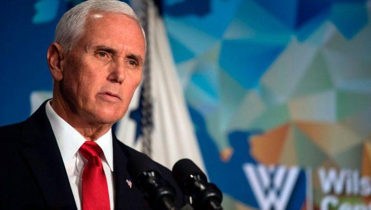 El vicepresidente Mike Pence cuestionó a la NBA y a Nike por no criticar a China y sus políticas.