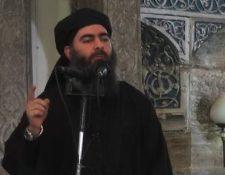 """Al Baghdadi anunció la creación de un """"califato"""" en 2014. AFP."""