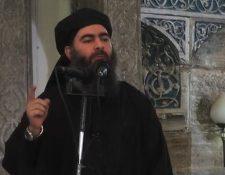"""Al Baghdadi anunció la creación de un """"califato"""" desde la ciudad iraquí de Mosul en 2014. AFP"""