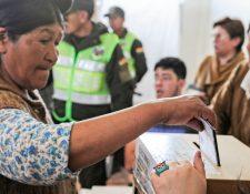 Los bolivianos fueron convocados a las urnas el pasado 20 de octubre.