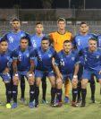 Este fue el cuadro titular de la Selección Nacional en Bermuda. (Foto Prensa Libre: Cortesía Fedefut)