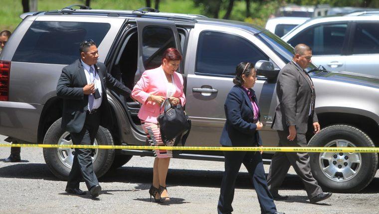 Consuelo Porras anula la seguridad del MP para Thelma Aldana y Mayra Veliz