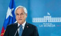 """Piñera aseguró que el gobierno había escuchado las """"legítimas demandas sociales"""" de los ciudadanos. AFP"""