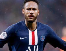 A Neymar le quedan dos temporadas y media con el PSG. (Foto Prensa Libre: Hemeroteca PL)