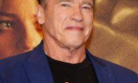 Seoul (Korea, Republic Of), 21/10/2019.- Austrian-American actor Arnold Schwarzenegger reacts as he arrives at a media event for the movie 'Terminator: Dark Fate' in Seoul, South Korea, 21 October 2019. The movie will open in South Korea's theaters on 30 October 2019. (Cine, Abierto, Corea del Sur, Seúl) EFE/EPA/KIM HEE-CHUL