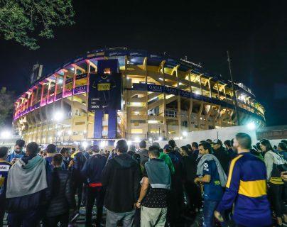 La Bombonera es el escenario para el partido de vuelta. (Foto Prensa Libre: EFE)
