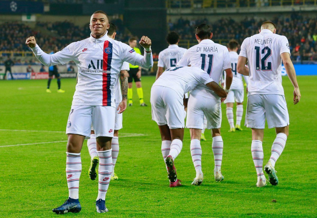 Mbappé marca un hat-trick perfecto y hace historia con el PSG