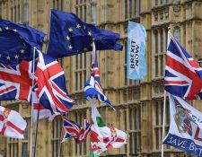 Los líderes de la UE acordaron en principio extender el Brexit hasta el 31 de enero de 2020. (Foto Prensa Libre: EFE)