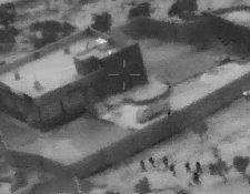 Estas son las instalaciones donde se refugiaba Abu Bakr al-Baghdadi en el noroeste de Siria. (Foto Prensa Libre: AFP)