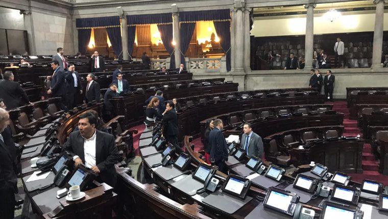 En el Congreso se toman decisiones sobre distintas normativas como los estados de excepción. (Foto Prensa Libre: Hemeroteca PL)