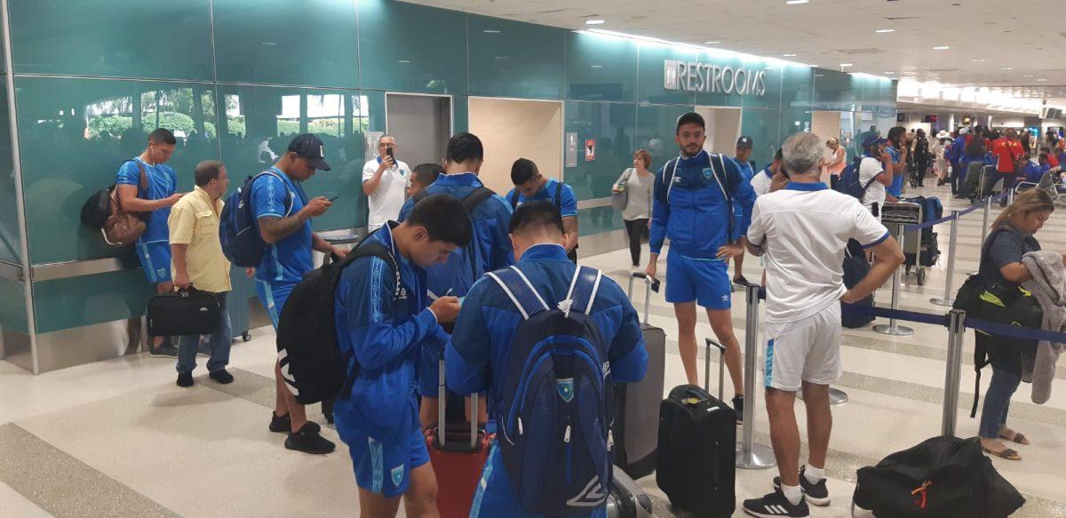 Selección Nacional llega a Fort Lauderdale, una escala previo a Bermuda