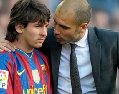 Guardiola vio en poco tiempo que con Messi lo ganaría todo. (Foto Prensa Libre: Hemeroteca PL)