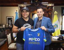 Pappa firmó con Mixco en junio. Los malos resultaron provocaron su salida. (Foto Prensa Libre: Hemeroteca PL)