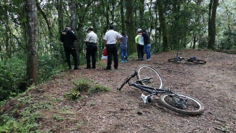 El hecho sucedió dentro de una finca privada en zona 16, colindante con Santa Rosalía. (Foto Prensa Libre: Noticias z16)