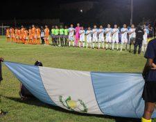La Selección Nacional gana el grupo C de la Liga de Naciones C de la Concacaf. (Foto Prensa Libre: cortesía Fedefut)