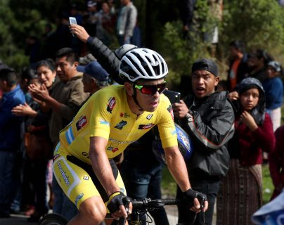 Manuel Rodas se encuentra a una etapa de ganar su segunda Vuelta a Guatemala. (Foto Prensa Libre: Carlos Vicente)