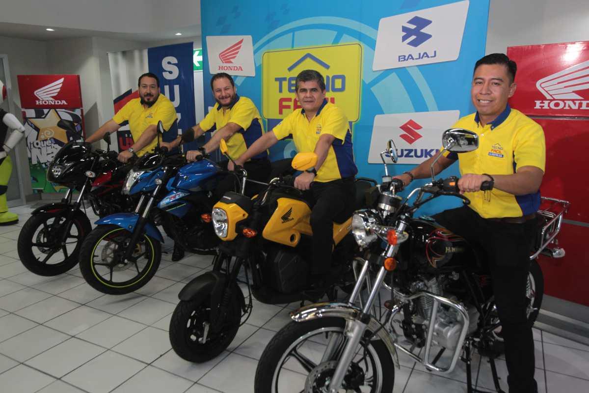 Distelsa pone a disposición de sus clientes motocicletas en las Tiendas Tecno Fácil