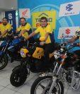 Grupo Distelsa dio a conocer los detalles de la venta de motocicletas en sus tiendas Tecno Fácil. Foto Prensa Libre: Norvin Mendoza