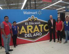 Walmart tendrá tres días de ofertas increíbles para sus clientes, donde podrán adquirir más de 700 productos. Foto. Prensa Libre: Norvin Mendoza
