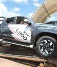 Con una exigente prueba de manejo Excel presentó los nuevos pick ups L200 de Mitsubishi. (Foto Prensa Libre: Norvin Mendoza)