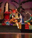 Presentación de Excelente presentación de la danza ritual El Paabanc en el Centro Cultural Miguel Ángel Asturias. Foto Prensa Libre: Juan Diego González