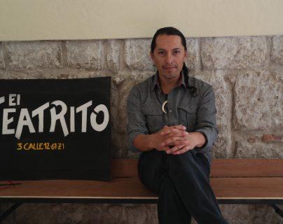 Bonifaz Díaz será el nuevo administrador del Teatro Municipal de Quetzaltenango, su contrato es por setenta y siete días. (Foto Prensa Libre: María Longo)