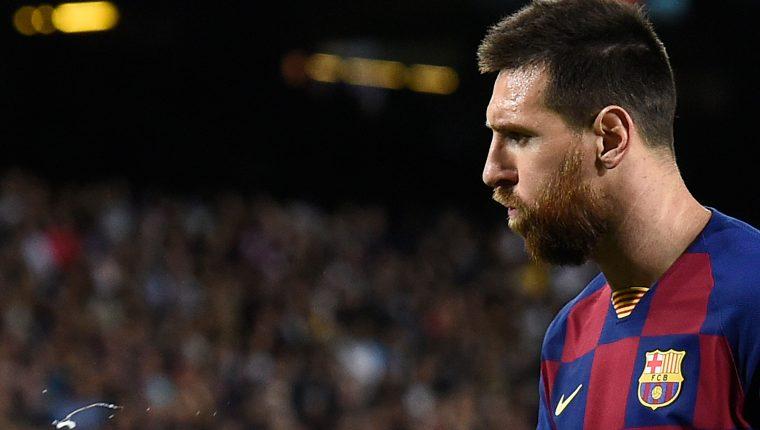 El delantero argentino Lionel Messi asegura que el tema fiscal le afectó mucho. (Foto Prensa Libre: AFP)