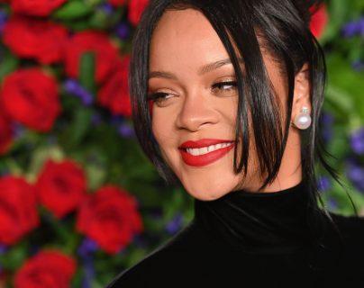 Rihanna rechazó actuar en el Super Bowl. (Foto Prensa Libre: AFP)