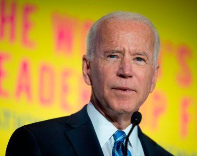 Joe Biden, precandidato presidencial demócrata para las elecciones 2020 en Estados Unidos. (Foto Prensa Libre: AFP)