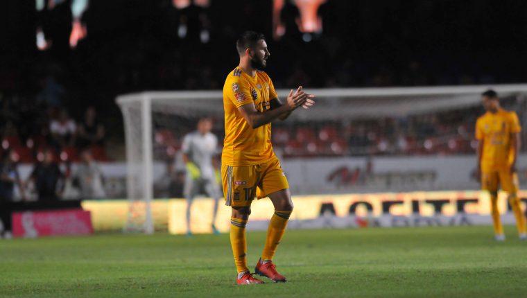 André Gignac respondió ante la polémica en la Liga MX. (Foto Prensa Libre: AFP)