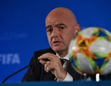 El presidente de la Fifa Gianni Infantino dice que será un éxito el Mundial de Clubes. (Foto Prensa Libre: AFP)