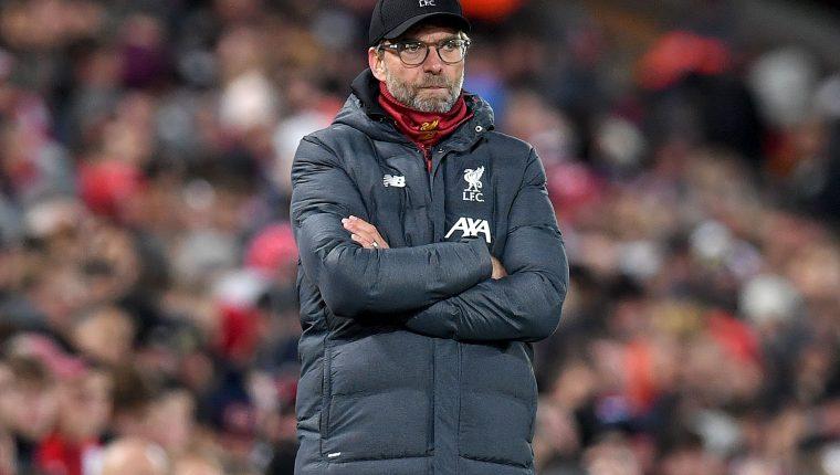 Jurgen Klopp, técnico del Liverpool, habló sobre las cargas de trabajo que viven los jugadores. (Foto Prensa Libre: AFP)