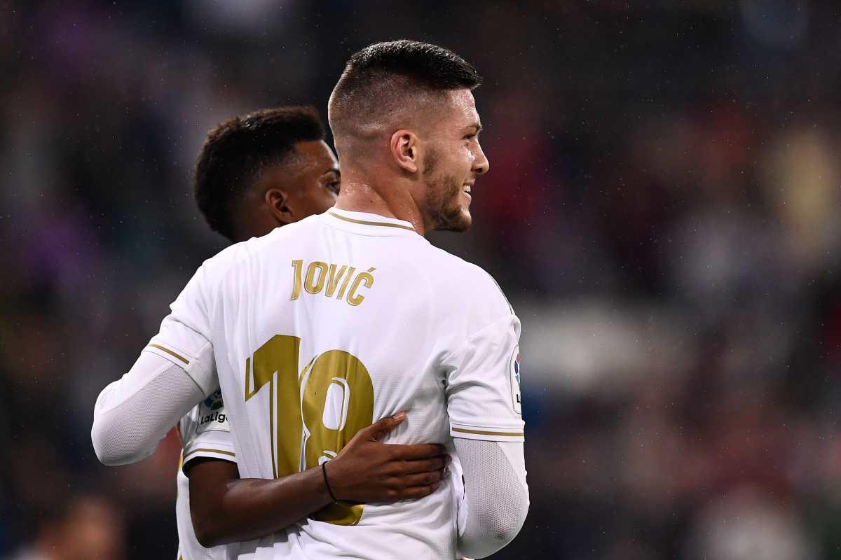 Jovic tras primer gol: Me motiva demostrar que no se equivocaron al ficharme