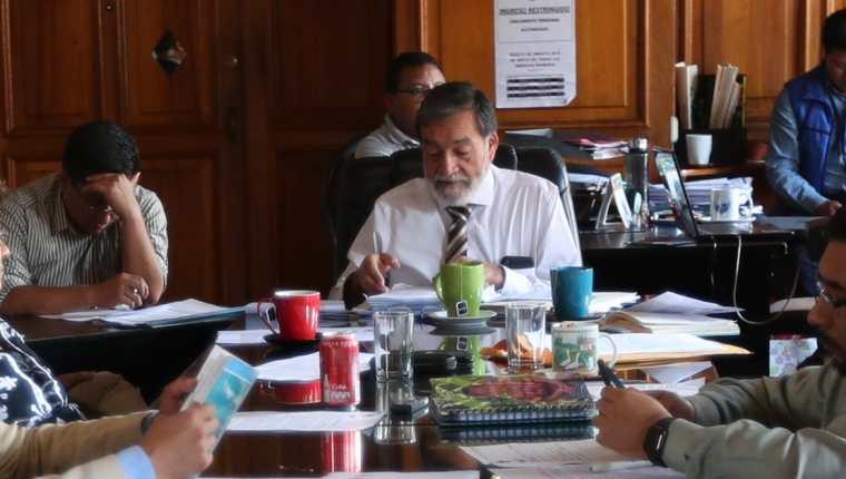 Del 23 al 27 de septiembre de 2019 el alcalde se ausento de las reuniones del Concejo ya que pidió estos días de vacaciones. (Foto Prensa Libre: María Longo)