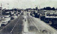 Avenida Petapa a finales de la década de los sesenta. Foto: Hemeroteca PL