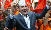 Alejandro Sinibaldi participó con el Partido Patriota como candidato a alcalde capitalino, en 2011. (Foto Prensa Libre: Hemeroteca)