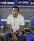 El técnico cobanero Amarini Villatoro asegura que la Bicolor le dejó cosas positivas, pero que deben mejorar. (Foto Prensa Libre: Fedefut)
