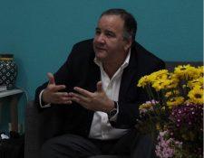 Miguel Barreto, director  regional del Programa Mundial de Alimentos. (Foto Prensa Libre: PMA)