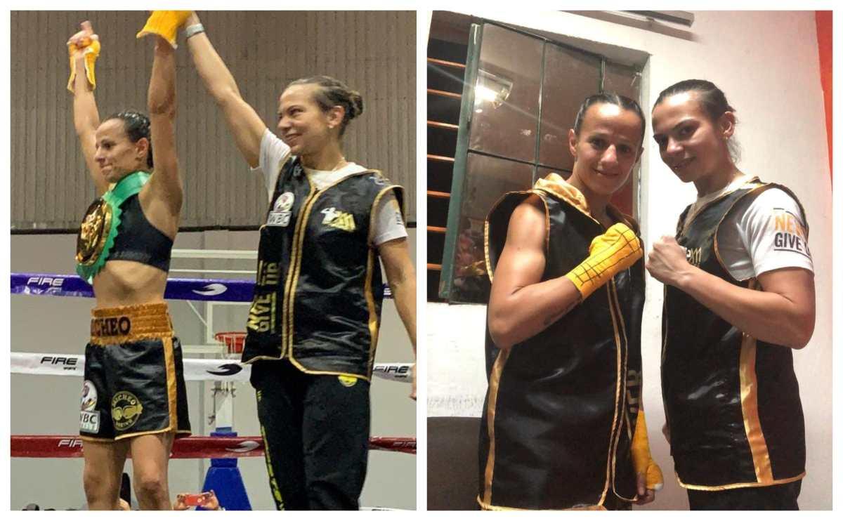 La boxeadora nacional María Micheo vence por KO a la mexicana Lourdes García