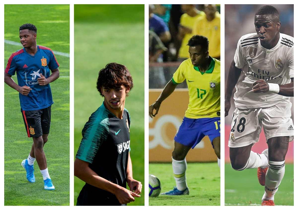 Ansu Fati, Joao Félix, Rodrygo y Vinícius, ¿quién debe ganar el premio Golden Boy?